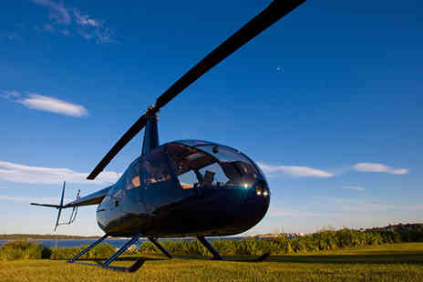 Buyagift - Six mile Mapledurham Estate and River Thames helicopter tour with cream tea - Save 0%
