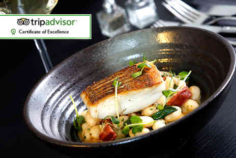 Marco Pierre White Steak House - Three course dinner with coffee for two - Save 48%