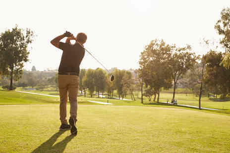 Calverley Golf Club - 18 holes, 50 warm up balls and a drink each for two - Save 58%