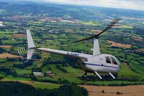 Heli Air - Sightseeing Helicopter Flight with Heli Air, Choice of Four Locations, Including Stratford upon Avon - Save 46%