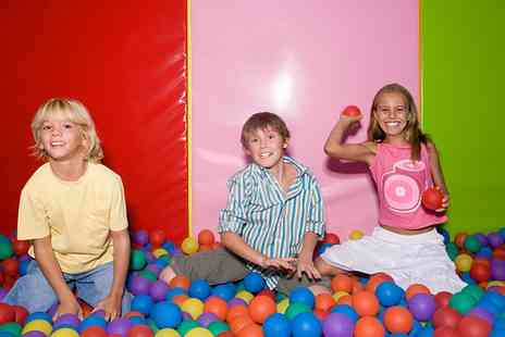 Eden Softplay - Soft Play Party With Squash and Food For Ten Kids - Save 0%
