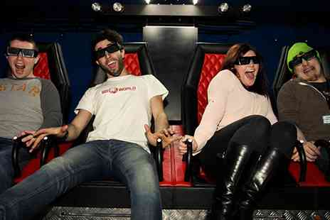 Ultimate Recreation - 5D Cinema Experience for One, Two or Four - Save 40%