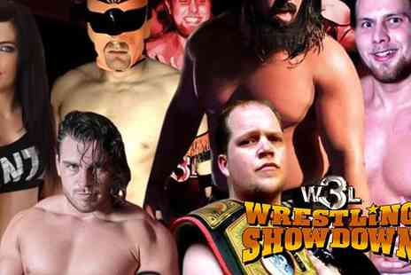 World Wide Wrestling League - Ticket to See World Wide Wrestling League on 24 June to 16 July - Save 50%