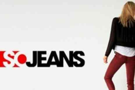 SOJeans -  £15 for £40 To Spend on Designer Jeans - Save 67%
