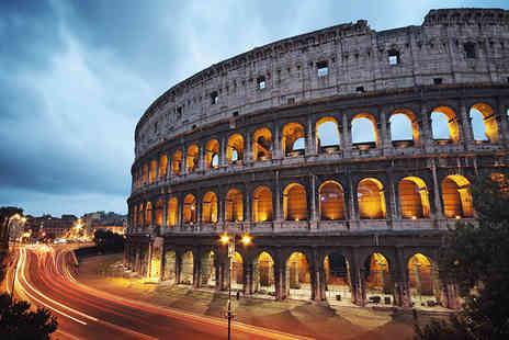Travel Center UK - Two or Three night Rome break with with a glass of Prosecco on arrival - Save 38%