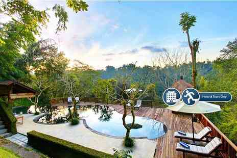 Nandini Bali Jungle Resort and Spa - Seven or Ten night 5 Star Bali break including breakfast and lunch or dinner and tours - Save 44%