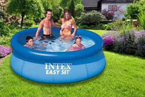 Toy Galaxy - 8ft garden swimming pool - Save 67%