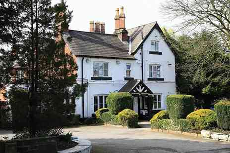The Lymm Hotel - Overnight stay for two with food platter, Prosecco, breakfast and Totally Tatton tickets - Save 47%