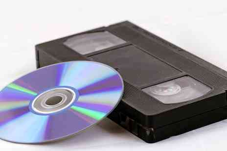 Cause and Effect Media - VHS to DVD Transfer: One, Five or Ten Transfers - Save 53%