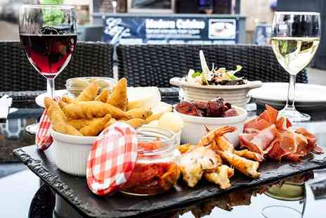 The George Vaults - Sharing Platter with Wine for Two or Four - Save 38%