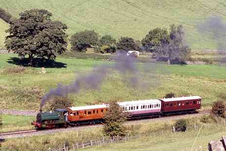 Embsay Steam Railway - Tickets for Two Adults or a Family of Four to the Embsay Bolton Abbey Steam Railway - Save 50%