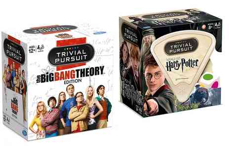 Groupon Goods Global GmbH - Trivial Pursuit  World of Harry Potter or Big Bang Theory  - Save 20%