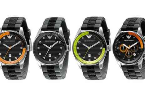 Groupon Goods Global GmbH - Emporio Armani Watch in Choice of Model - Save 65%