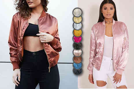 Flirty Wardrobe - Summer bomber jacket - Save 70%