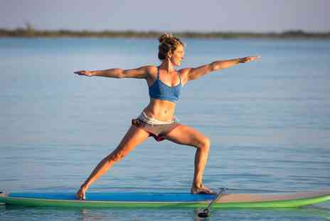 River Spirit SUP - Stand Up Paddleboarding Yoga Lesson for One or Two - Save 0%