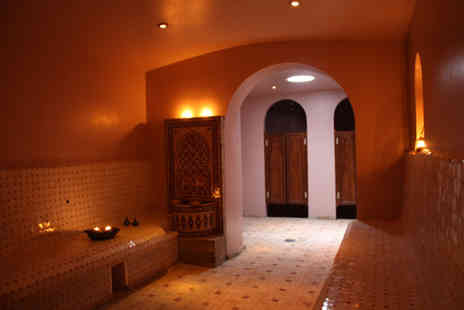 Moroccan Beauty - Moroccan hammam steam room experience for one including full body scrub and full body clay mask - Save 51%
