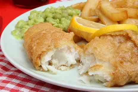 The Ship Inn - Beer Battered Cod and Chips For Two - Save 50%