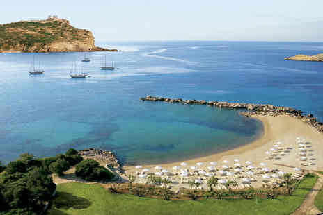 Cape Sounio Grecotel Exclusive Resort - Five Star 10 nights Stay in a Family Mountain View Bungalow - Save 39%