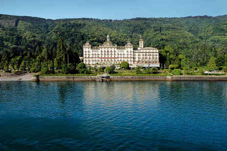Grand Hotel Des Iles Borromees - Five Star 5 nights Stay in a Classic Garden View Room - Save 68%