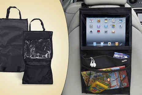 Last Chance Supplies - Car Seat Tablet Holder and Organiser - Save 80%