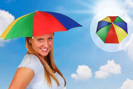 Megastore 247 - Colourful Umbrella Hats Buy One Or Two - Save 0%