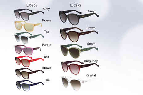 Fashion Eyewear - A pair of Liu Jo sunglasses choose from two styles and nine colours - Save 74%