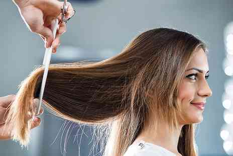 Cutting Crew - Wash, Cut and Blow Dry with an optional Conditioning Treatment - Save 53%