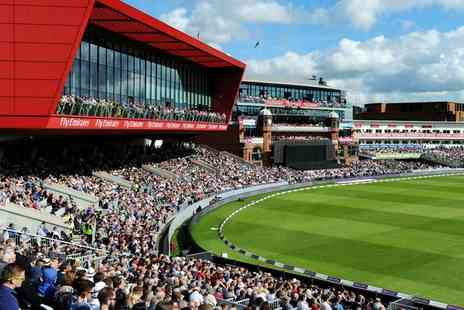 Lancashire Cricket Club - VIP Ticket to England vs Pakistan Investec Test Investec Match at Emirates Old Trafford, 23 To 25 July - Save 0%
