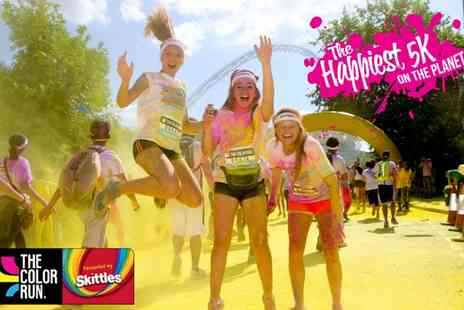 The Color Run - Entry to The Color Run Presented by Skittles with Goody Bag and Sunglasses On 20 August - Save 13%