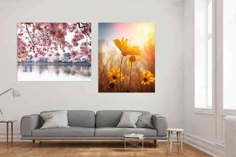 Deco Matters - Luxury A2 flower canvas - Save 90%