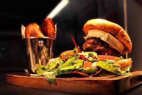 The Keys - Burger and Chunky Chips for Two  - Save 50%