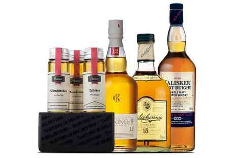 Flaviar - Set of Three 45ml Premium Scotch Whiskies and Tasting Course With Free Delivery - Save 47%
