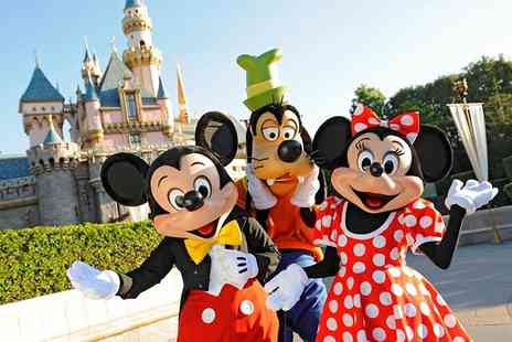 Crystal Travel - Two night Disneyland Paris stay with flights and one day park entry - Save 25%