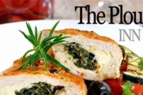 The Plough - Two Courses of Traditional Pub Fare For Four With Wine - Save 56%