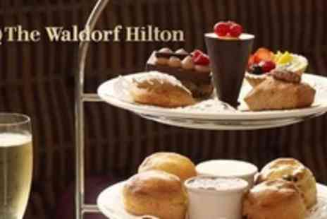 The Waldorf Hilton Hotel - Afternoon Tea With Prosecco For Two - Save 50%
