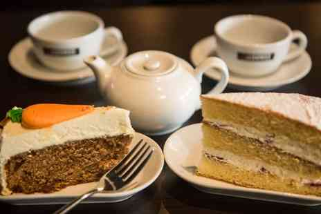 Love 2 Lounge - Coffee of Choice and a Slice of Cake for Two or Four  - Save 46%