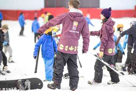 Chill Factore - Snowboard or Ski Taster Session for One or Two - Save 50%