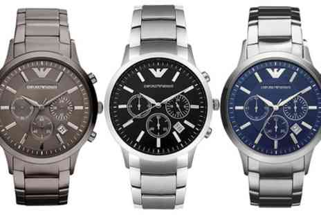 Groupon Goods Global GmbH - Emporio Armani Watch With Free Delivery - Save 59%