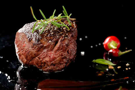 Avalanche - Delicious Chateaubriand meal for two, including starters, sauces and a glass of wine each - Save 57%