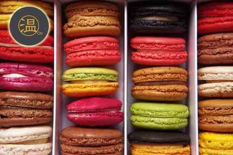 On Cafe Cookery Club - Macaron making masterclass with Loretta Liu as well as a box of 30 macarons to take home  - Save 54%
