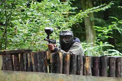 Extreme Mayhem - Group Paintballing With Lunch and 100 Balls Each - Save 82%