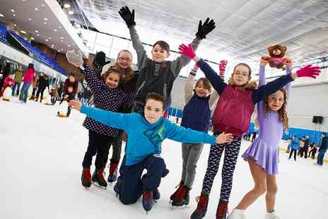 Billingham Forum Ice Arena - Ice Skating For Two or Four with Skate Hire - Save 52%