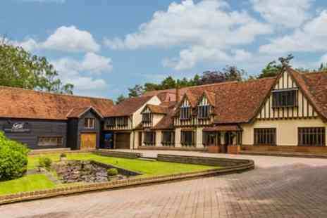 Great Hallingbury Manor - One or Two Nights Stay For Two With Breakfast, Dinner and Prosecco - Save 52%