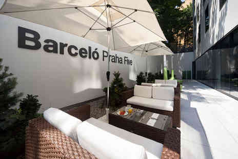 Barcelo Praha FIVE - Four Star 4 nights Stay in an Executive Room - Save 70%
