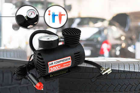 Myb Direct - 12v mini air compressor - Save 73%