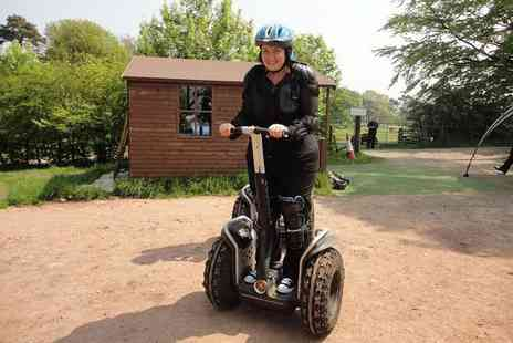 Madrenaline Activities - One hour Segway obstacle course experience for one - Save 0%