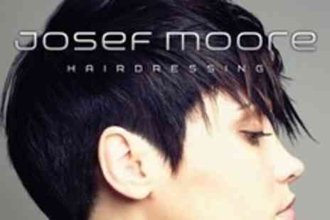 Josef Moore - Cut and Finish With Intense Conditioning Treatment and Head Massage - Save 60%
