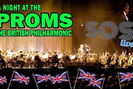 GRT Productions - Price Band A Ticket to SOS Live A Night at the Proms, Priory Park, 3 July - Save 50%