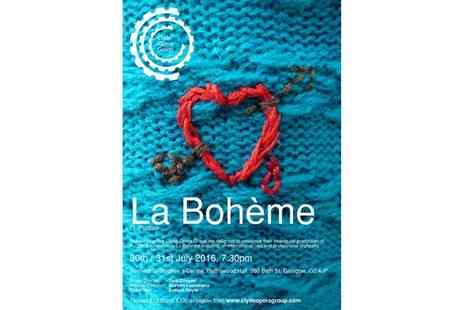 Clyde Opera Group - Ticket to La Boheme by Puccini at Renfield St Stephens Centre, 31 July - Save 24%