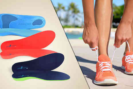 Sole Control - Sole Control Full Length Orthotic Insoles in 3 Colours - Save 83%